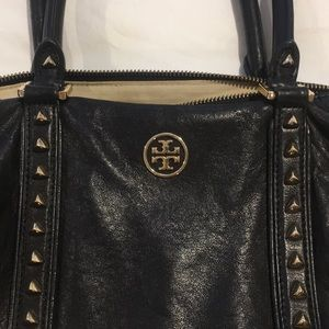939976c634a9 Tory Burch Bags - Tory Burch Black pyramid stud dome purse